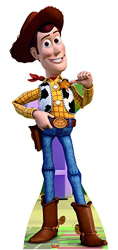Star cutouts - Stsc374 - Figurine Géante - Woody - Toy Story - 153 X 67 Cm