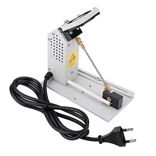 Elektrische Seilschneider,Heißer Schneidemaschine Mit Abluftventilator Heißes Messer Metall Hochfrequenz Eifrig Elektrothermischen Manuelle Schneidwerkzeug aus hochwertigem Material 110-250V(EU)