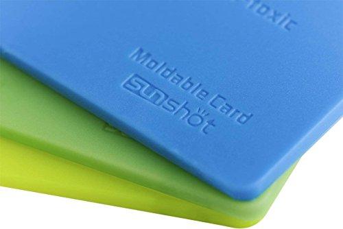 Sunshot modellabile colla in plastica, forma a qualsiasi shap, mend creare o riparazione piccolo in molti modi, forma riutilizzabile saldamente e durevole di 3pezzi blue green yellow