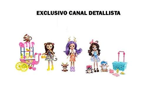 Mattel Muñecas enchantimal con Accesorios, (80FVJ)