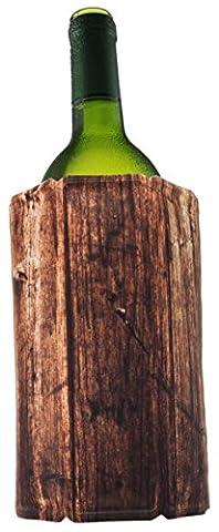 Vacu Vin Rapid Ice / Active Wine Cooler - Wood
