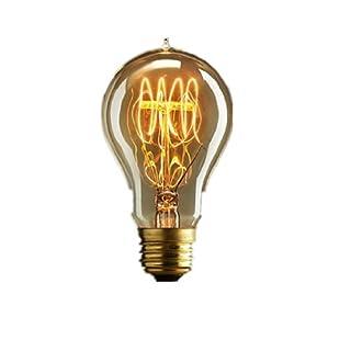 Autek Edison Poire a cage A19 Ampoule
