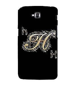 Fuson Designer Back Case Cover for LG G Pro Lite :: LG Pro Lite D680 D682TR :: LG G Pro Lite Dual :: LG Pro Lite Dual D686 (A Diamond Alphabet H Theme)