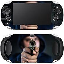 """Motivos Disagu Design Skin para Sony Playstation Vita: """"Mann mit Pistole"""""""