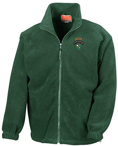 1st Bn Embroidered Logo - Full Zip Fleece By Military online (Vietnam-veteran-fleece-jacke)