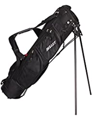 Legend Milano 6 inch Golf Stand Bag - Black by Legend
