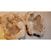 Bergkristall Druse PAAR, 90,55g, 5x5cm, voller Kristalle, nicht nur zum Aufladen anderer Heilsteine. preisvergleich bei billige-tabletten.eu