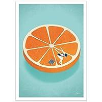 Wall Editions Art-Poster - Orange Aperol - Andrea de Santis
