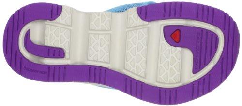 Salomon Damen Rx Break Sport-& Outdoor Sandalen score blue/ light grey-/ anemone purple