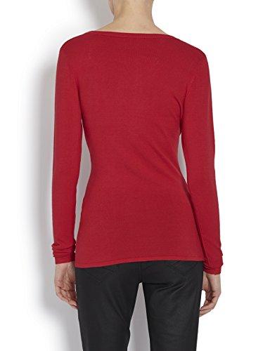 Morgan Damen Pullover 142-Maz.M Rot