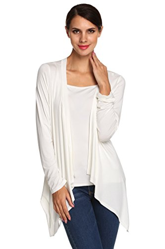 acevog-cardigan-bordo-irregolare-donna-1335-bianco-m