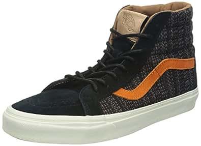 VANS Chaussures - SK8-HI REISSUE CA - italien wave italien wave black burnt orange, Taille:44.5