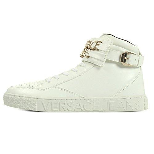Versace Jeans Linea Sneaker Lettering Coating White E0YOBSE3003, Scarpe sportive - 42 EU