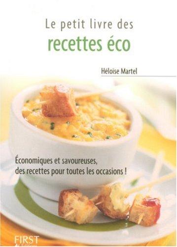 Petit livre des recettes éco par Héloïse Martel