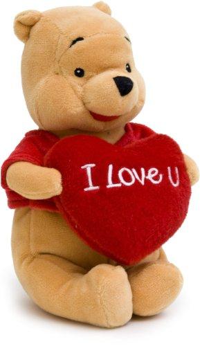 Imagen principal de Joy Toy 1000415  - Peluche de Winnie Pooh con corazón (60 cm) [Importado de Alemania]