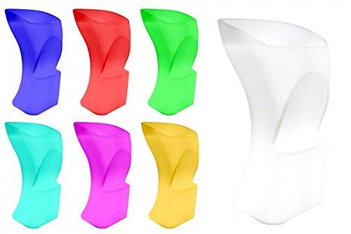 Cube Chair Tisch (7even® LED-Design Barsthul, Bar-Chair - Hocker mit Farbwechsel RF)