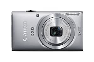 Canon IXUS 132 Digital Camera - Silver (16MP, 28mm Wide Angle, Eco Mode, 8x Optical Zoom) 2.7 inch LCD