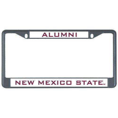 New Mexico State Alumni Metall Nummernschild Rahmen in schwarz Alumni 30,5x 15,2cm
