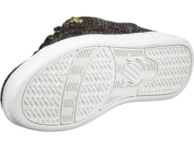 K-Swiss Lozan III TT Reptile GlamSDE W Scarpa Nero/Oro/Palude Calda