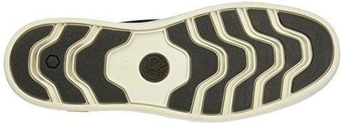 Timberland CA1G74, Scarpe da ginnastica Uomo Nero (Jet Black Cotton Canvas)