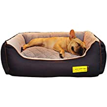 Cama para Perros, Cama Grande y Lujosa para Perros, Elegante sofá Antideslizante para Perros