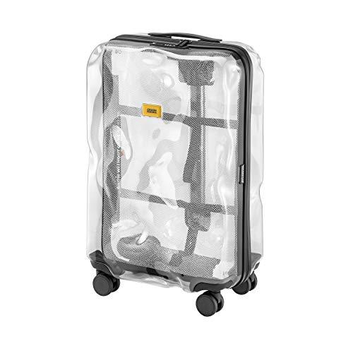 Crash Baggage Share - Trolley medio, colore: Trasparente