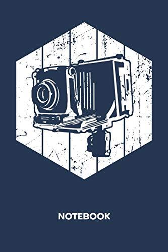NOTEBOOK: Ruled Notepad | Retro Sketchbook Vintage Fans Organizer 80s Kids Planner | Boyfriend or Girlfriend Gift | A5 Diary 6x9 Inch Journal | Lined ... for Men & Women | Oldschool Folding Camera Vintage Folding Camera