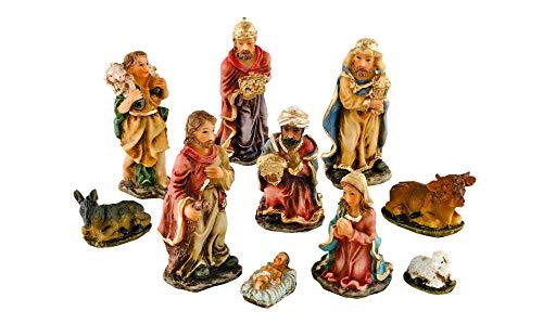 VBS 10 Krippenfiguren-Set Weihnachten Krippe Figuren