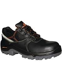 Delta Plus - Zapatos de Seguridad de Piel Resistente al Agua Modelo Phocea Composite para Hombre