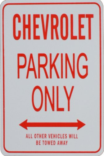chevrolet-parking-only-sign