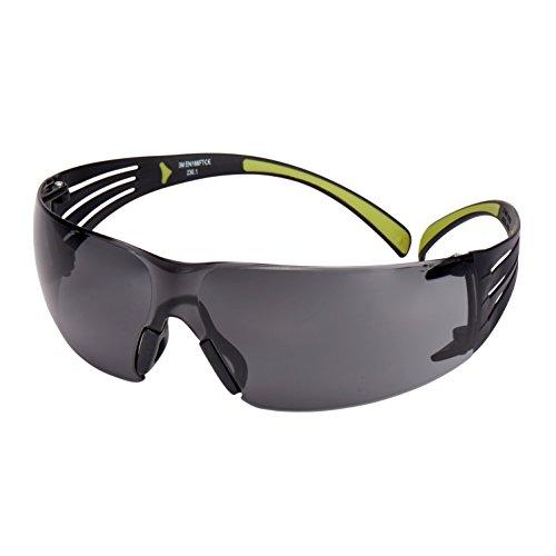 f4cb75cddc 3 M SecureFit sf402af gafas de seguridad, antiarañazos, antivaho, gris lente