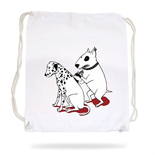 Certified Freak Tattoo Dogs Gymsack White