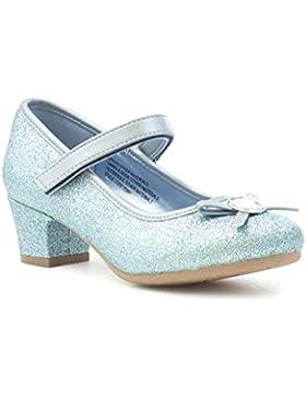 Lilley Sparkle Zapato Inclinado Gema Azul de Las Muchachas por
