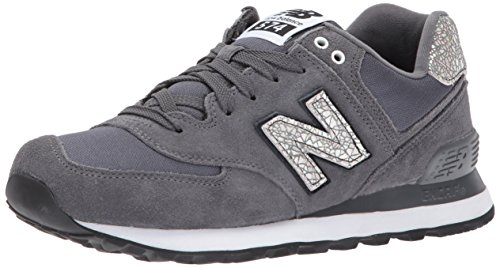 New Balance 574, Sneaker Donna, Grigio (Dark Grey), 36.5 EU
