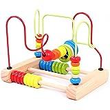 hibote Holz-Zahl-Karten und Counting Rods mit Box, Sticks Montessori-Material Mathematik-Material Ausbildung f¨¹r Kind-Kind