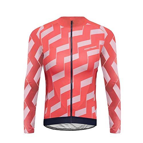 Uglyfrog Bike Wear Herren Fahrradbekleidung Set Langarm-Warm Trikots & Shirts or Lang...