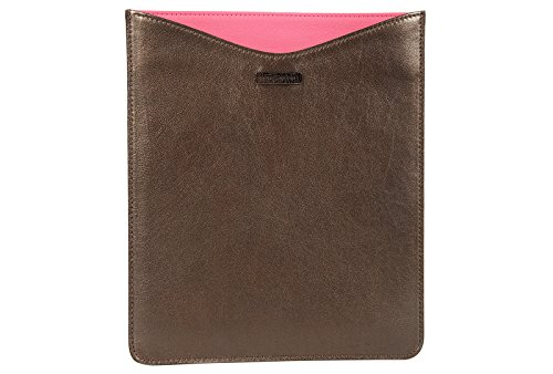 Preisvergleich Produktbild Marc Jacobs Cover Case Decken Apple Ipad Hülle 3 4 Leder Braun