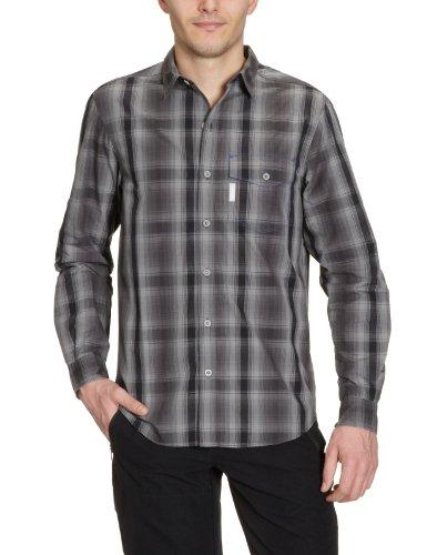 Columbia utilizer chemise à manches longues pour homme carreaux Noir - noir