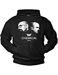Pull Swag Breaking Bad Sweat a Capuche Noir - Chemical Bros.