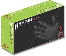 Hycare Gants jetables sans poudre en nitrile médical taille S (100 pièces)