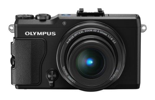 Olympus Stylus XZ-2 Fotocamera Digitale 12 MP, Sensore BSI-CMOS, Processore True Pic VI, Full HD, Attacco Mirino, Nera