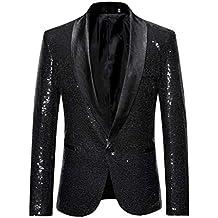 Xmiral Veste Costume Homme Style Entreprises Mariage d extérieur Tenue  Blazer aef911b021c