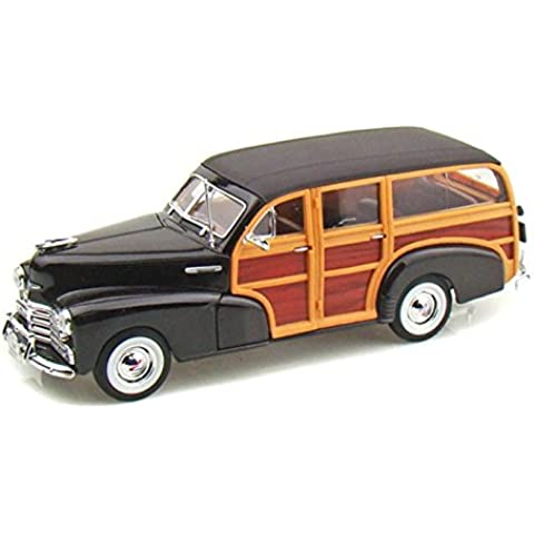 1948 Chevy Fleetmaster Woody 1/27 - Brown by Collectable Diecast