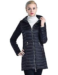 Parka Damen Winter Lang Daunenmantel Mit Kapuze Langarm Slim Unikat Style  Fit Warme Verdicken Mode Elegante Große Größen… bfc6578c35