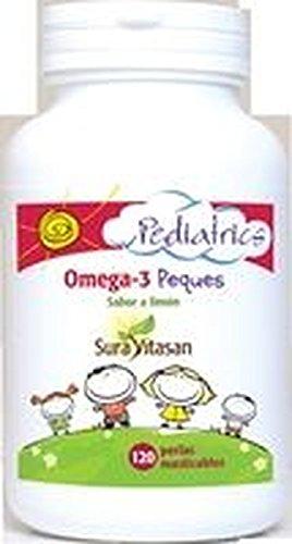 Omega 3 Peques (Sabor Limón) 120 perlas de Sura Vitasan