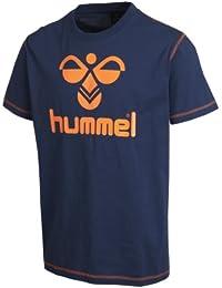Hummel T-Shirt Baumwolle – CLASSIC BEE COTTON TEE – Trainingsshirt kurze Ärmel Herren – Fitnessshirt für Sport & Freizeit –  Sportshirt div. Farben - Tshirt Rundhals