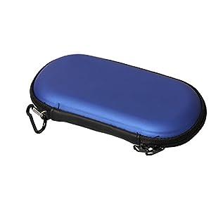 Timorn Eva Schutzhülle Cover Hard Storage Tasche Tragen Sie Shell Tasche mit Trageriemen für Playstation PS Vita PSV (blau)