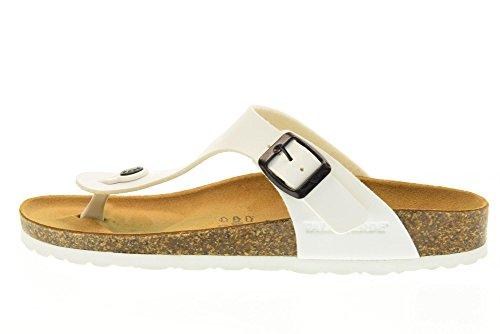 VALLEVERDE WEISS G51830 unisex Flip-Flops Schuhe (36-40) Weiß