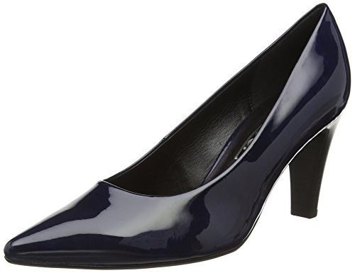 Gabor Shoes 51.280 Damen Pumps, Blau (marine 78), 40.5 EU (7 Damen UK) (Blau Patent Marine Schuhe Leder)