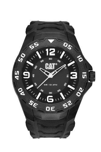 CAT LB.111.21.132 - Reloj de pulsera hombre, caucho, color negro